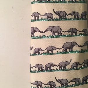 Vintage Hermes Elephant Tie